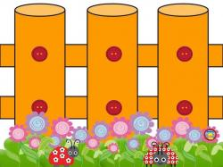 Wallpaper clipart fence