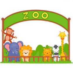 Zoo clipart entrance gate