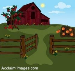 Gate clipart farm gate