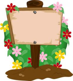 Gate clipart flower bed