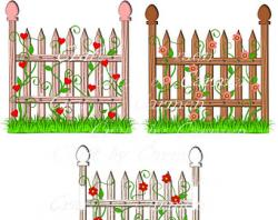 Gate clipart garden design