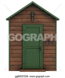 Gate clipart garden shed