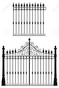 Gate clipart gothic