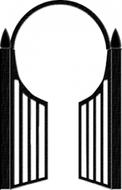 Gate clipart halloween