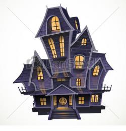 Mansion clipart purple house