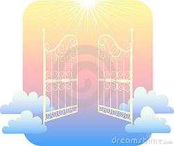 Haven clipart open gate