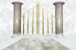 Heaven clipart golden gate