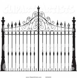 Gate clipart iron gate