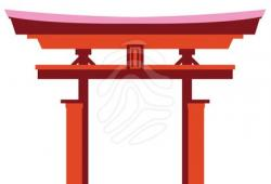Gate clipart japan