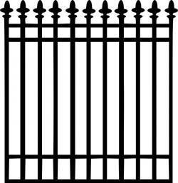 Gravestone clipart fence