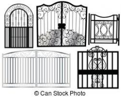 Gate clipart new home
