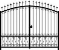 Gate clipart outline