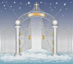 Heaven clipart pearly gates