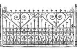 Gate clipart victorian