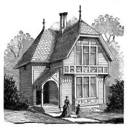 Old House clipart fairytale cottage