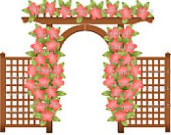 Gate clipart wedding