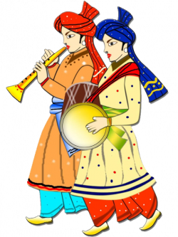 Indian clipart colour