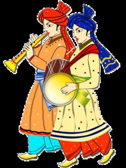Indian clipart colour