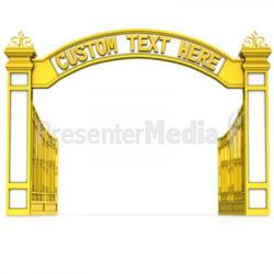 Gate clipart welcome gate