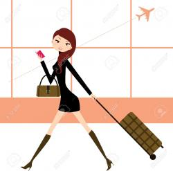 Gate clipart woman