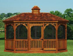 Gazebo clipart amish