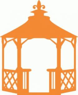 Gazebo clipart simple