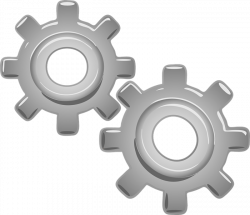 Mechanical clipart many gear