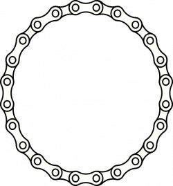 Circle clipart chain circle