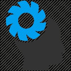 Gears clipart brain memory