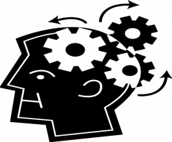 Gears clipart brain power