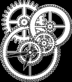 Clockworks clipart mechanical gear