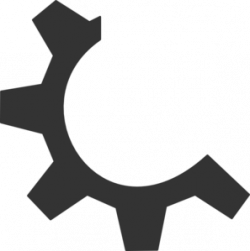 Gears clipart logo