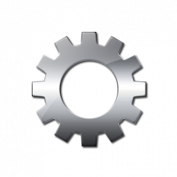 Gears clipart silver