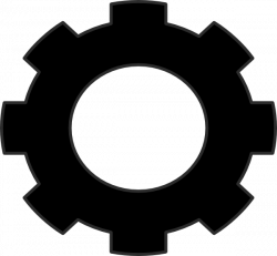 Gears clipart simple