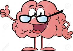 Knowledge clipart smart brain