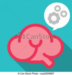Gears clipart smart brain