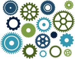 Gears clipart sprocket