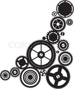 Clockworks clipart steampunk gear