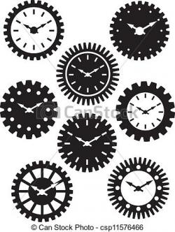 Mechanical clipart clock gear