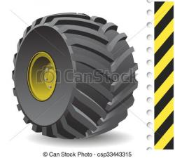 Gears clipart tractor wheel