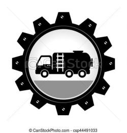 Gears clipart truck wheel