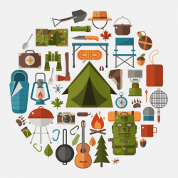 Tent clipart wilderness survival