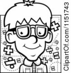 Geek clipart black and white