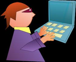 Geek clipart computer hacker