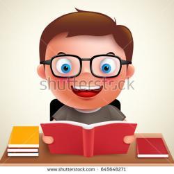 Geek clipart homework