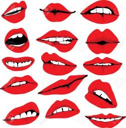 Geek clipart lip