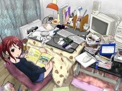 Geek clipart messy room