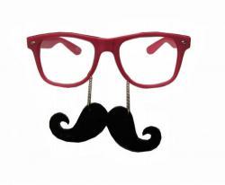 Geek clipart mustache glass