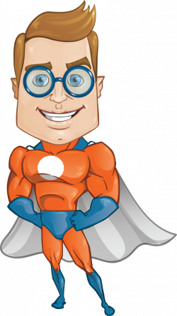 Geek clipart superhero