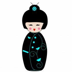 Geisha clipart